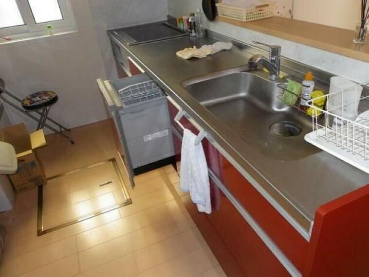 専用部・室内写真 IHシステムキッチン(食器洗浄乾燥機付き)