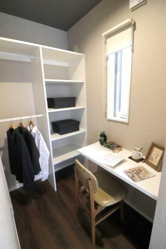 同仕様写真(内観) Y-Selectionモデルハウス 寝室横の書斎ではゆっくり趣味の時間が楽しめます