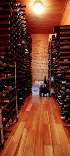 大型のワインセラー