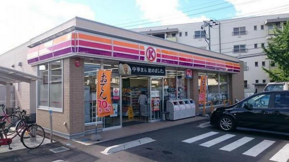 コンビニ サークルK倉敷西富井店