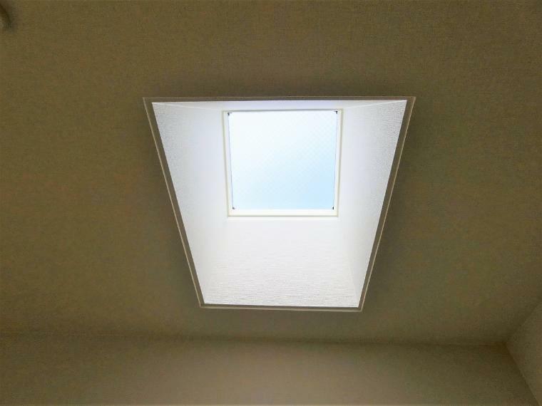 光が入る天窓