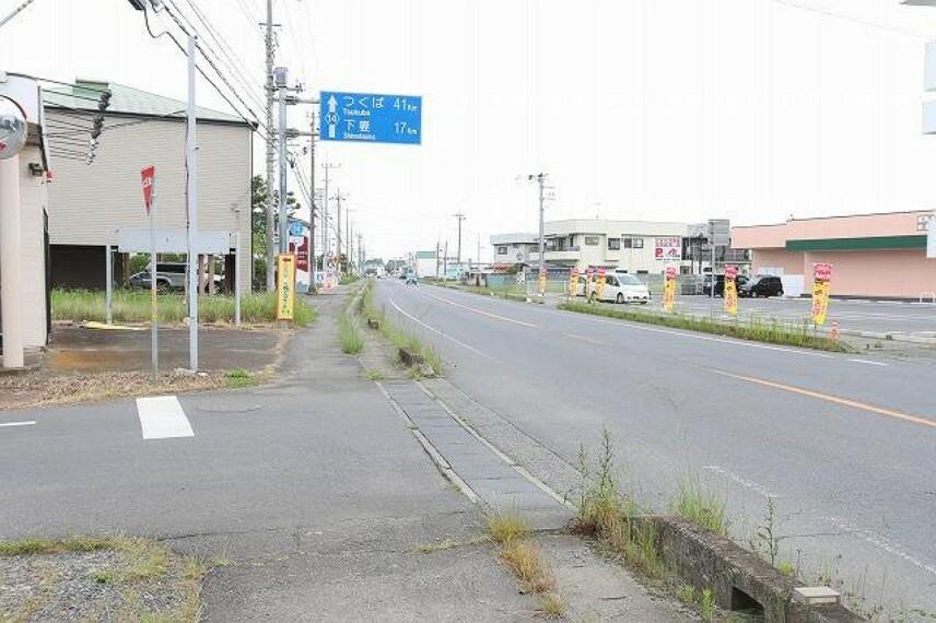 現況写真 国道50号線・県道7号線に近くアクセス良好~