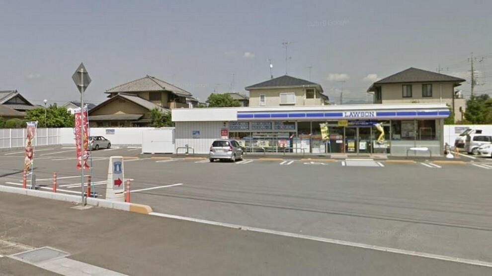 コンビニ ローソン筑西直井店