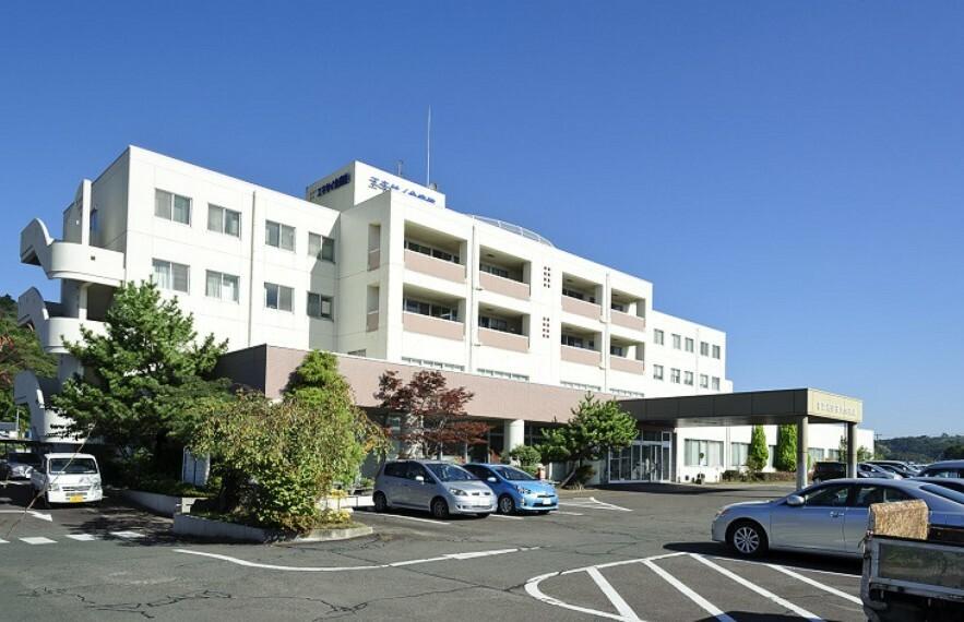 病院 宮城利府掖済会病院 徒歩21分(約1660m)病床数100、駐車場80台完備の総合病院です。