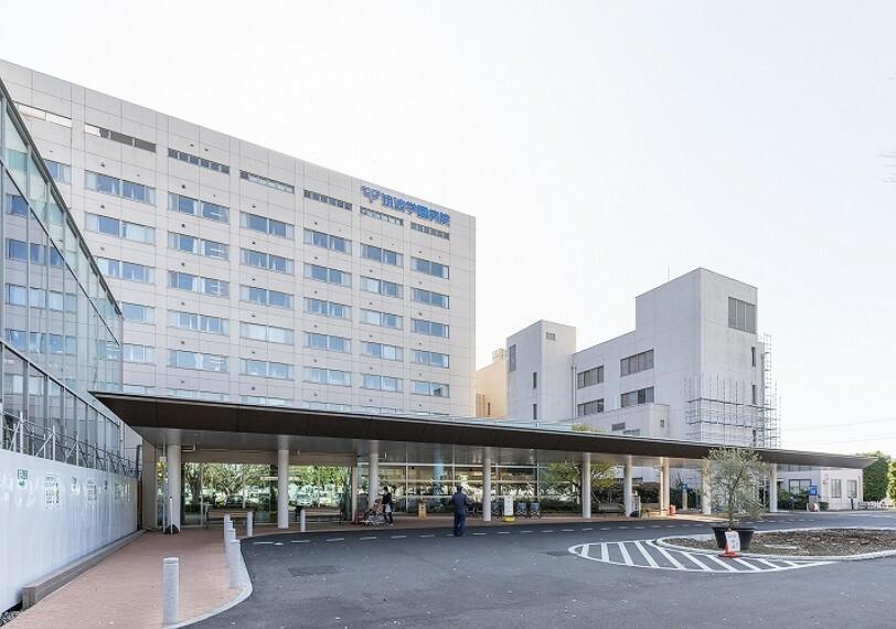 病院 筑波学園病院(徒歩65分、約5.2km)(2019年12月撮影)