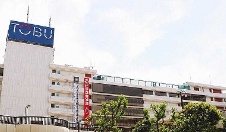ショッピングセンター 東武百貨店船橋店(2018年5月撮影)