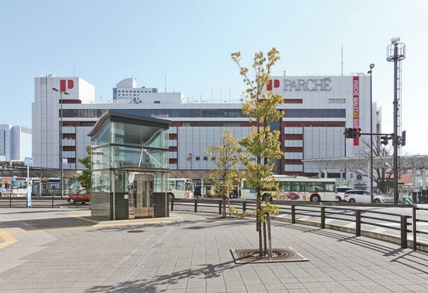JR静岡駅(約2900m・徒歩37分) 東京駅まで東海道新幹線「ひかり」で約1時間。名古屋駅までは「ひかり」で約1時間・「こだま」で約1時間15分。 (2016年1月撮影)