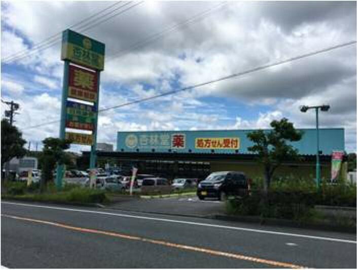 ドラッグストア 杏林堂掛川花鳥園前店 1600m(徒歩20分) 9:00~22:00までの営業時間で、医薬品はもちろん食品、 酒類も販売しています。