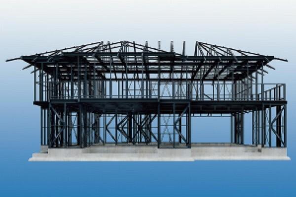 構造・工法・仕様 「ダイナミックフレーム・システム」の最大のメリットは優れた安全性と圧倒的な設計の自由度を高いレベルで両立していることです。さらに天井高2740mm、柱なしで最大7mというワイドスパンにより、広々とした伸びやかで心地よい次世代スローリビングを提案。これまでにない開放感あふれるダイナミックな空間づくりが実現できます。