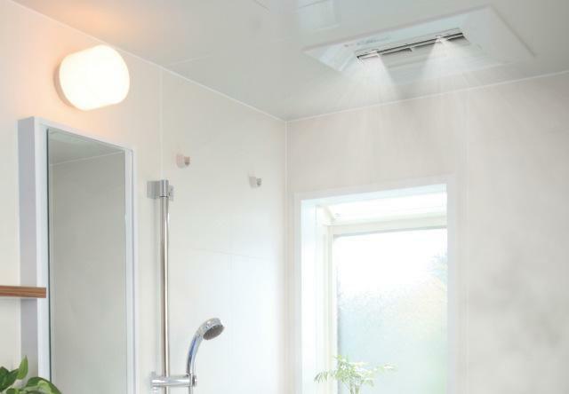 浴室 「ミストカワック」 ミストサウナ付で心も体もリラックス。一日の疲れを癒します。もちろんカワック機能(換気・乾燥・暖房)も装備。