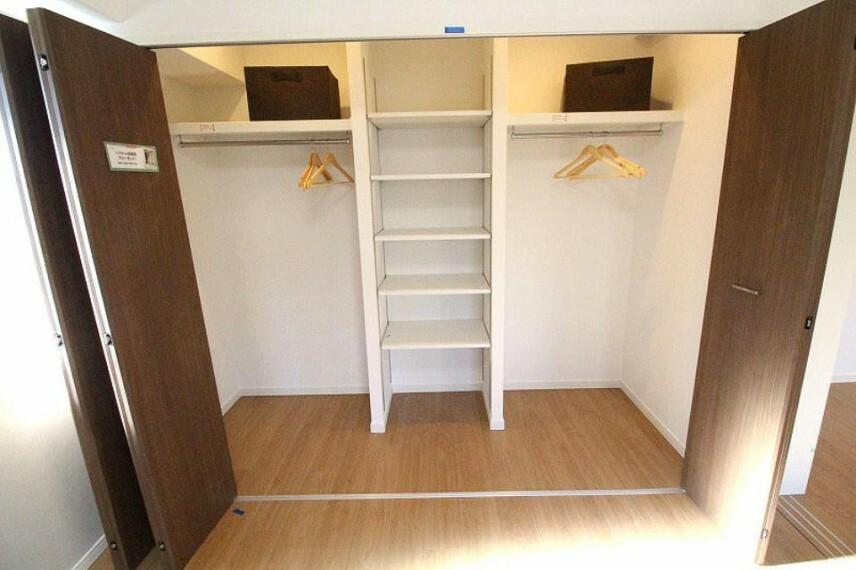 収納 大容量で使い勝手のよいシステム収納