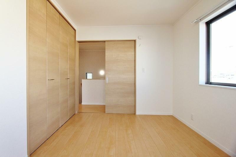 洋室 2階北側6帖の洋室です。