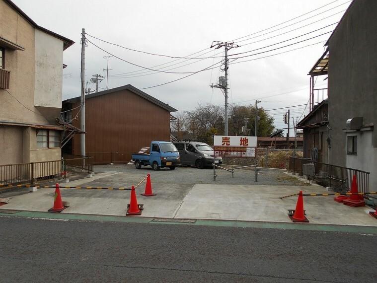 現況写真 御殿場線「松田」駅より徒歩約1分の便利な売地です。