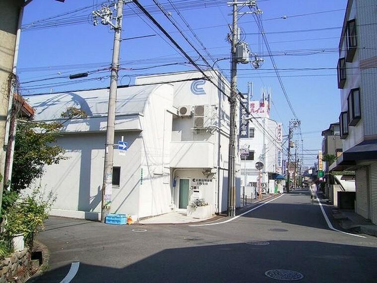 銀行 京都信用金庫上牧支店