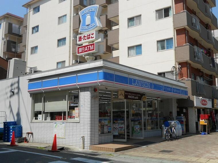 コンビニ 【コンビニエンスストア】ローソン 長田片山町五丁目まで560m