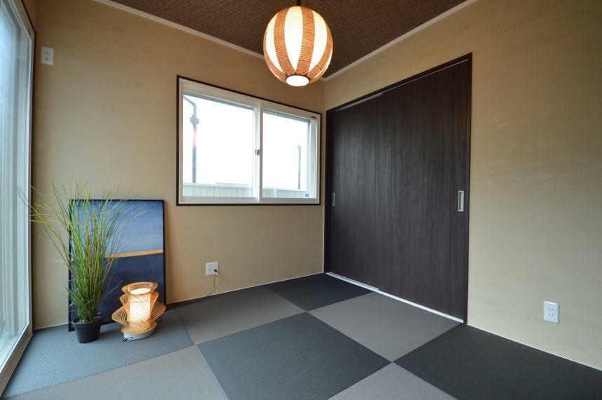 同仕様写真(内観) モデルハウス内の和室です