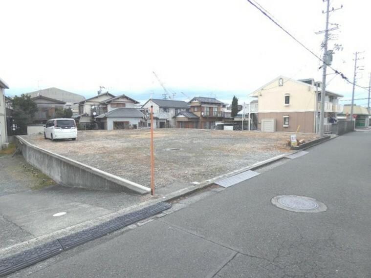 現況写真 静岡市清水区折戸1丁目の売地のご紹介です。