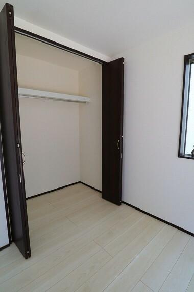 収納 クローゼット  全室収納付き  お部屋がスッキリとお使いいただけます