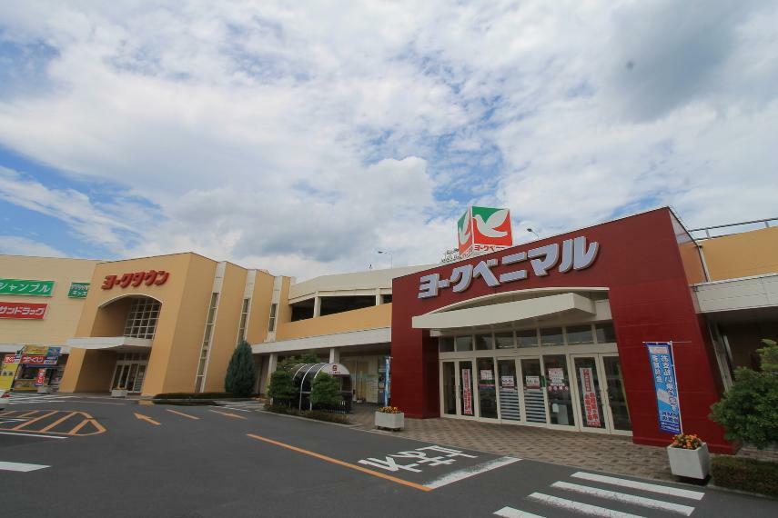 ショッピングセンター ヨークタウン足利 スーパーやドラッグストアなど生活に必要なものが全て揃うショッピングモールです