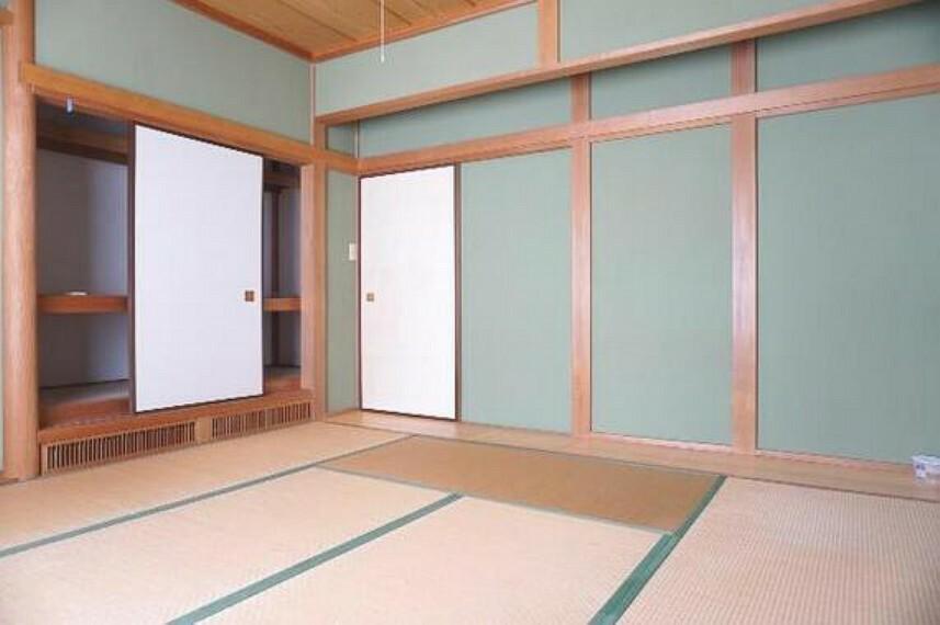 専用部・室内写真 和室は客間としても、お子様のお昼寝やキッズスペースとしてもお使いいただけますね。