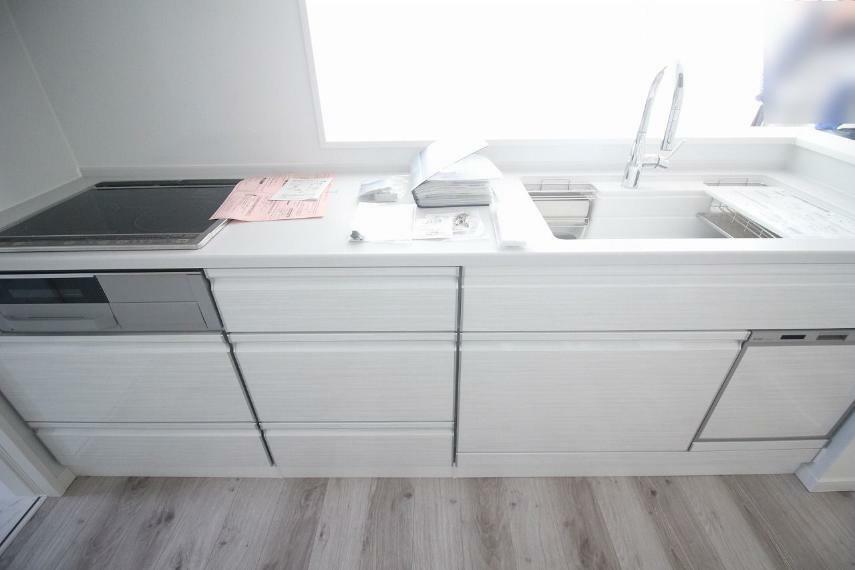 キッチン 食洗器付き!お部屋全体が見渡せます!