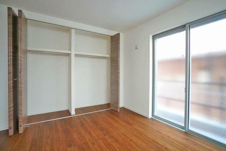 収納 収納量の多い居室は不要な家具を室内に置くことなく、お部屋を有効にご利用いただけます!
