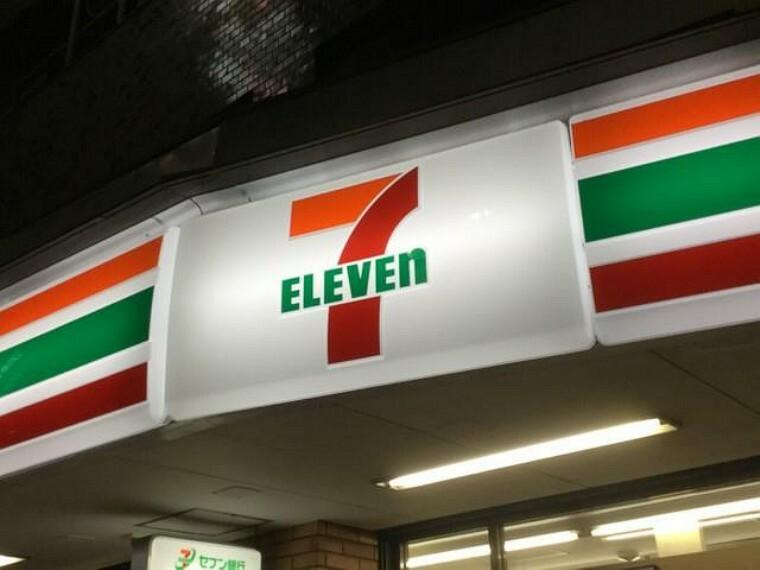 コンビニ セブンイレブン富士見南畑店(徒歩12分)