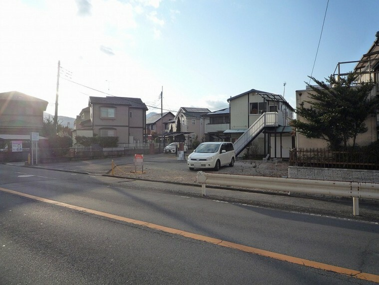現況写真 小田急小田原線「新松田」駅が最寄り駅となります。
