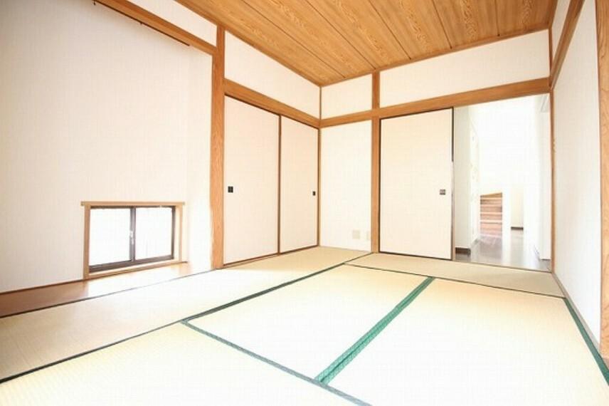 和室 客間はもちろん、個人のスペースにも使える和室