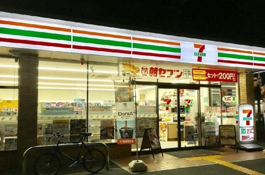 コンビニ セブンイレブン山科外環小野店