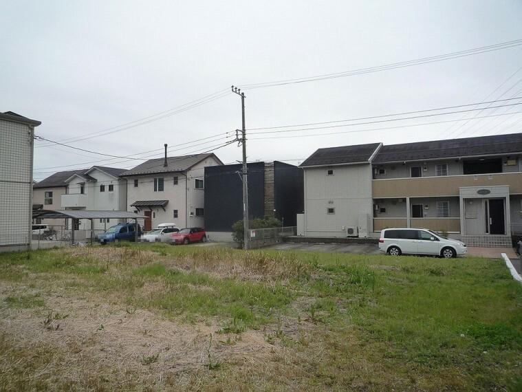 現況写真 建築条件無しのためお好きなハウスメーカーなどでご建築が可能。