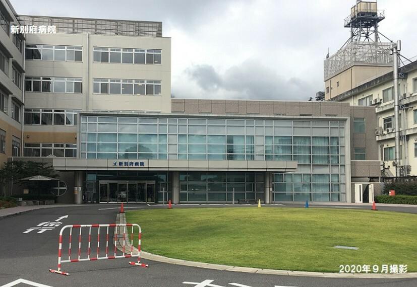 病院 「救急センター」の認可を受け、重症患者の救命を第一義として診療に当たっています。800m2020年9月撮影