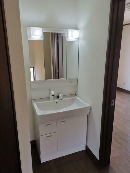 洗面化粧台 2階洗面所