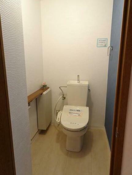 トイレ ウォシュレット交換済み。