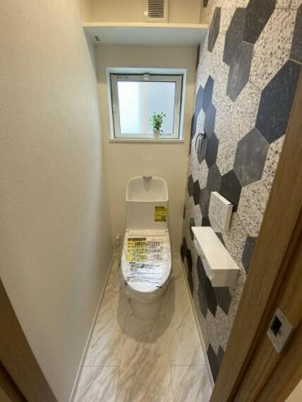 トイレ 3階トイレ TOTOのおサイフにもやさしい「しっかり節水」「充実した節電機能」がついているトイレ