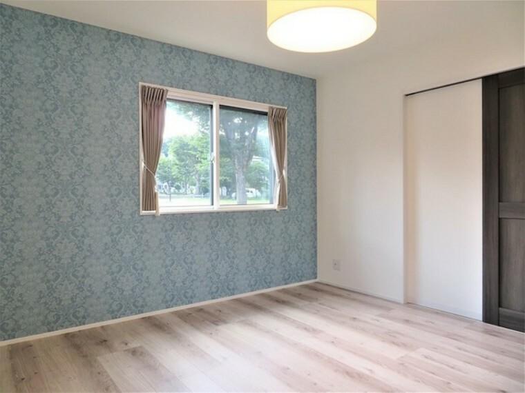洋室 全てのお部屋が2面採光となっています