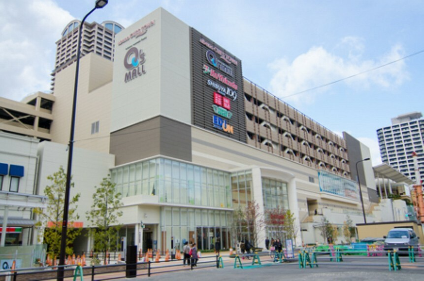 ショッピングセンター 【ショッピングセンター】あべのキューズモールまで2457m