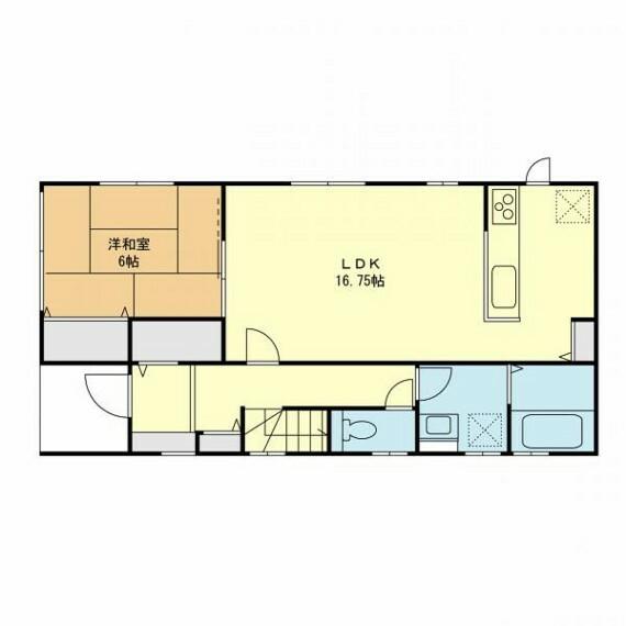 間取り図・図面 4号棟(1階)建築参考プラン