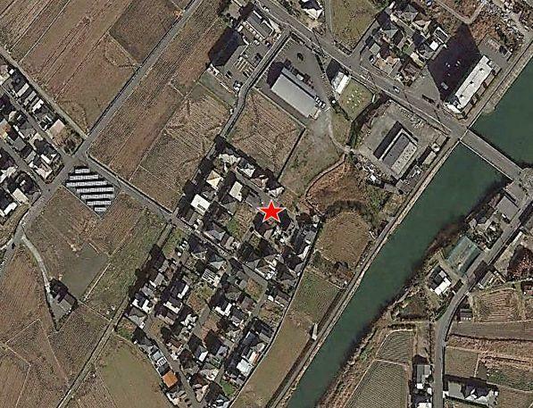 現況写真 グーグルマップからの航空写真です。