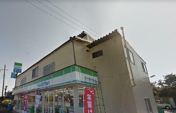コンビニ ファミリーマート 福田今元店 距離約1100m(徒歩約14分)