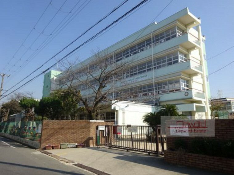 中学校 【中学校】八雲中学校まで400m