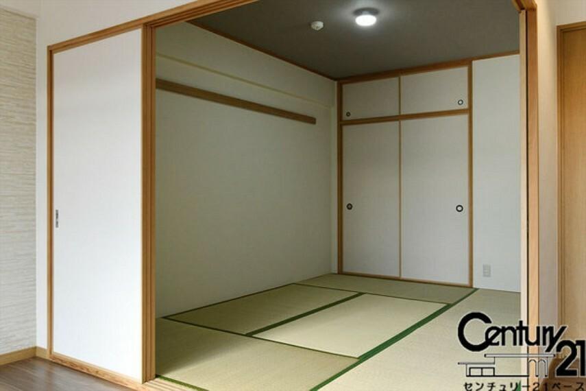 ■リビングに隣接する落ち着きのある和室になります!客間としてもお使いいただけます!■