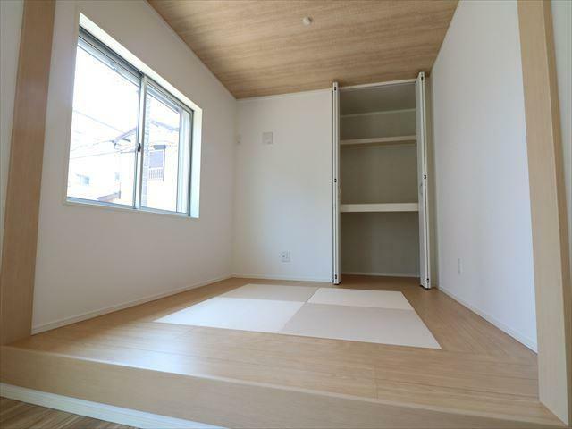 和室 全ての窓にLow-E複層ガラスを採用。