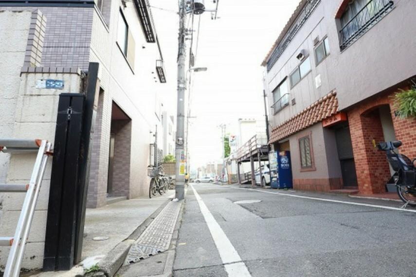 現況写真 前面道路の写真