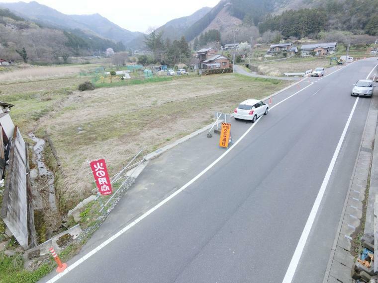 現況写真 松田ダムに抜ける道です