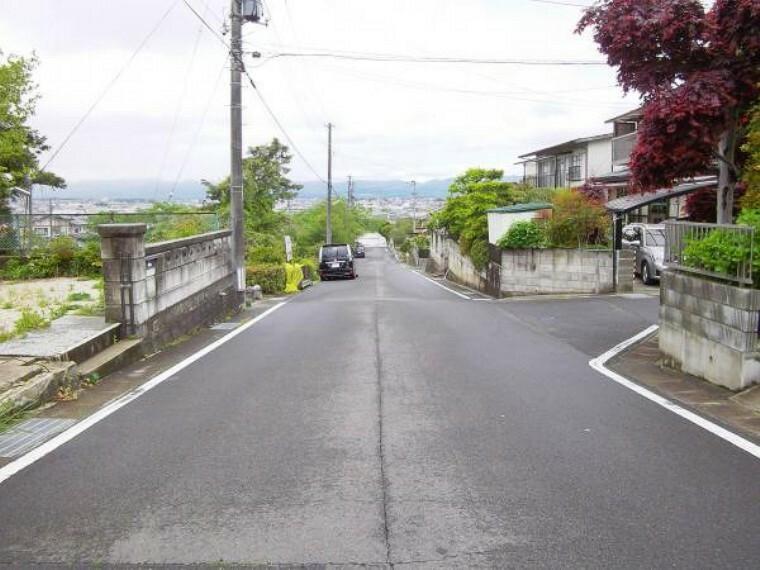 現況写真 前面道路6.6m