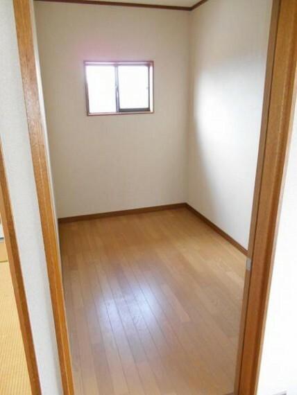収納 2階の納戸スペース。