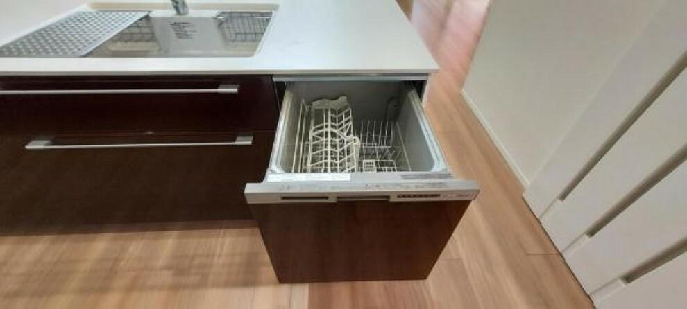 キッチン 食洗機で家事の時短。ご家族と過ごす時間が増やせます。