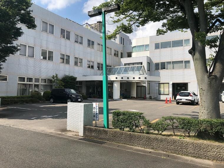 病院 医療法人社団敬愛会「福島西部病院」まで約1200m(徒歩15分)です。 (2020年8月撮影)