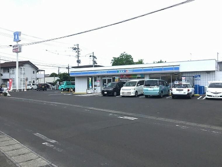 コンビニ ローソン福島森合店まで約580m(徒歩8分)です。  (2020年6月撮影)